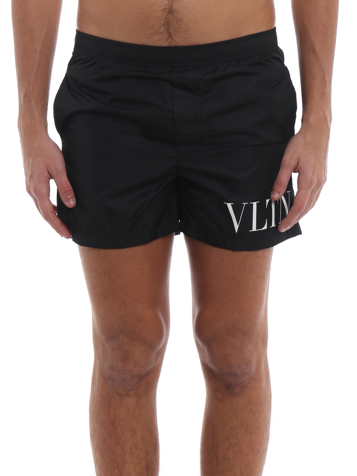 32e856b169ba4 iKRIX VALENTINO: Swim shorts & swimming trunks - VLTN black swim shorts
