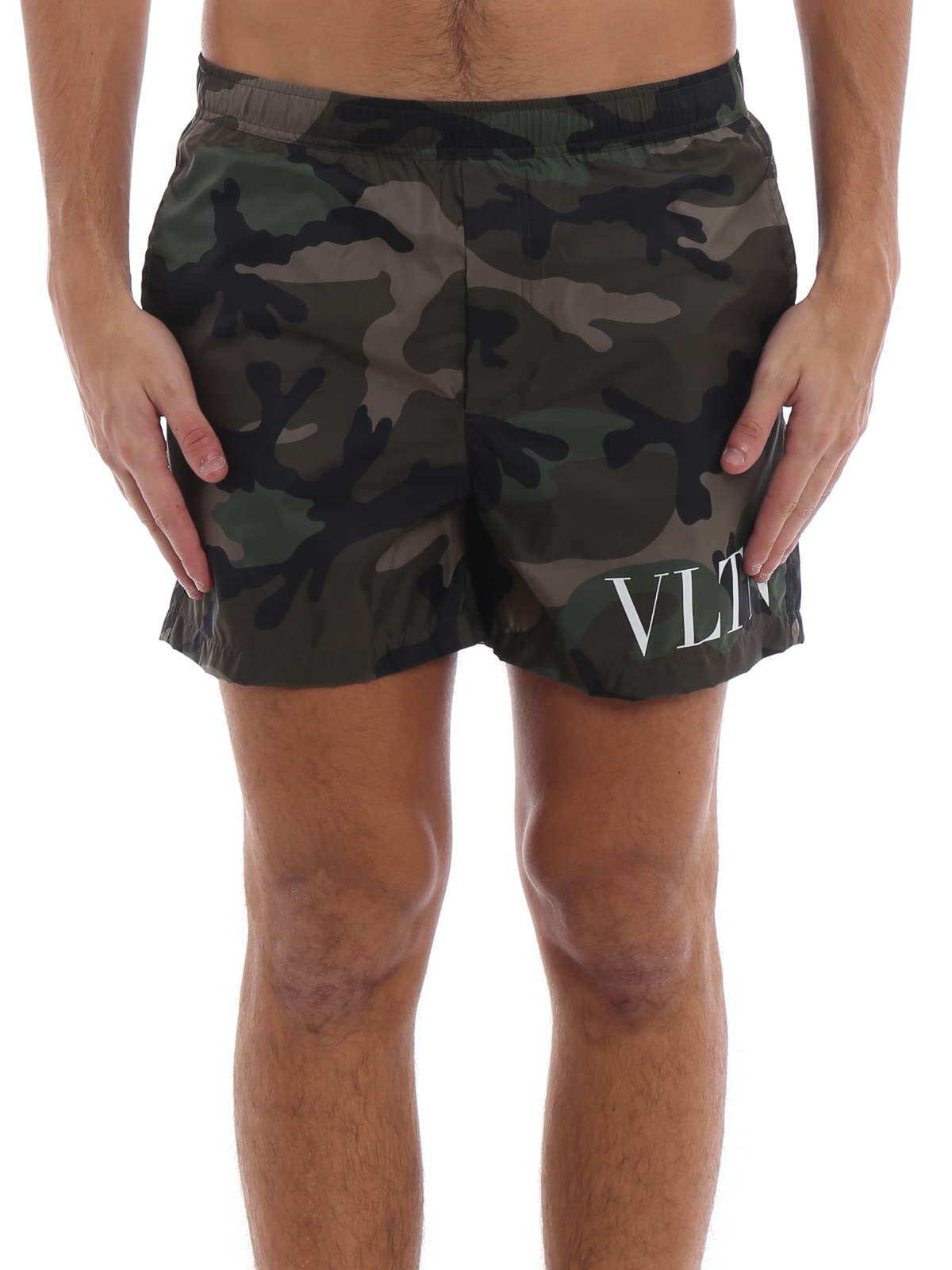 34c358587ec52 iKRIX VALENTINO: Swim shorts & swimming trunks - VLTN camouflage swim shorts