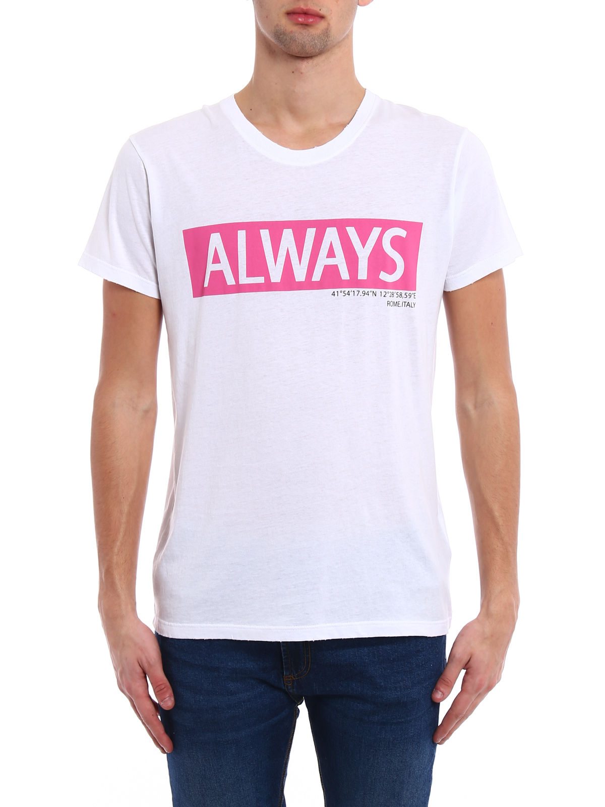 always t-shirt Valentino Cheap Official yQP0IQpw