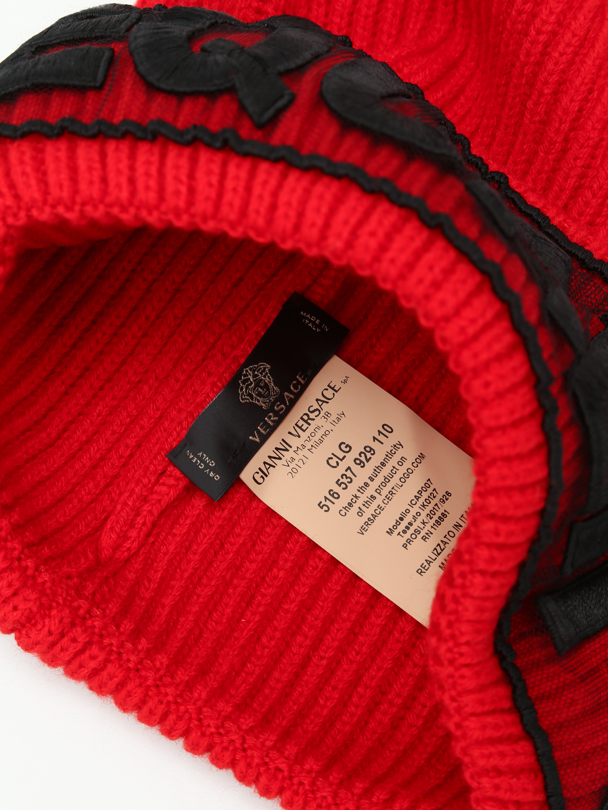 30560b34121 Versace - Equality knitted wool beanie - beanies - ICAP007IK0127I497
