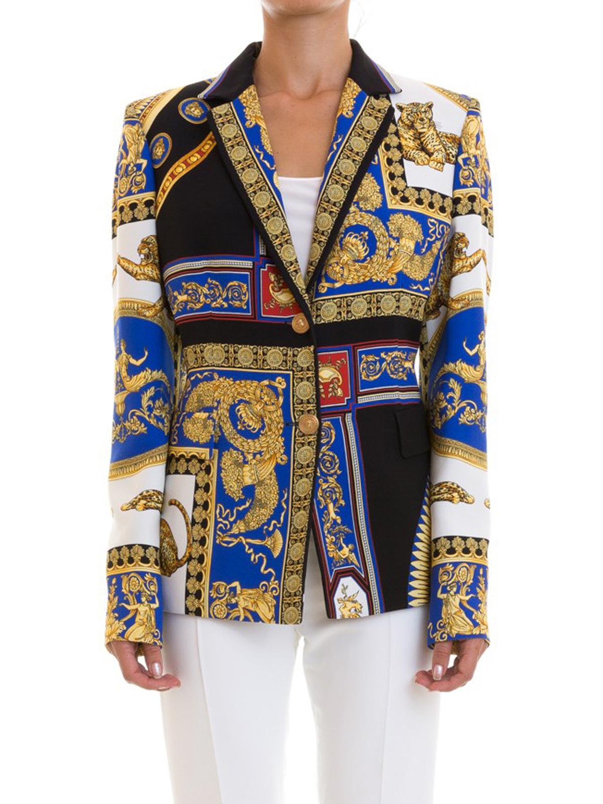 3cc068e8cb3c Sunglasses shop. Donna · Uomo. iKRIX VERSACE  giacche blazer - Blazer con stampa  barocca all-over