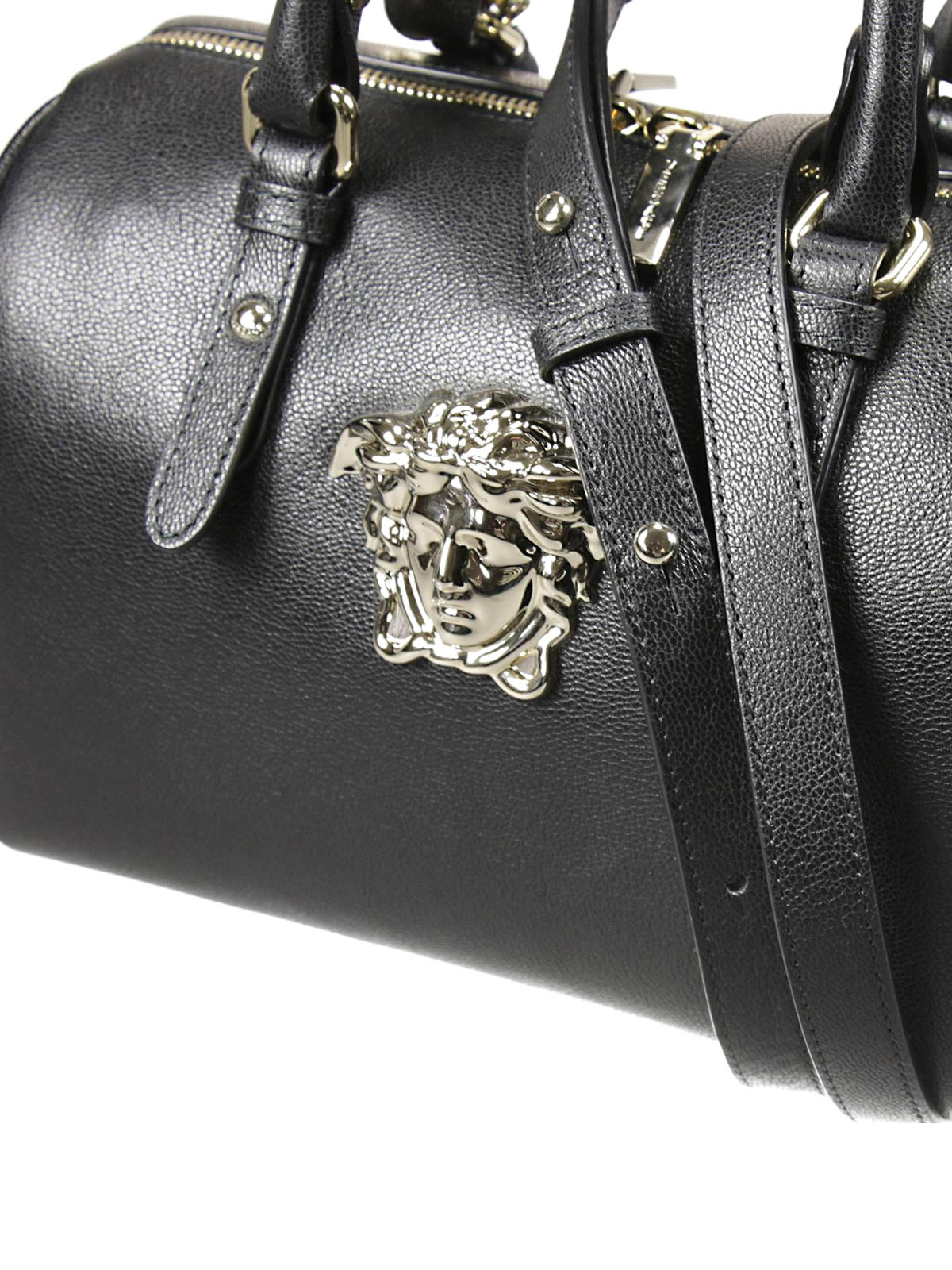 a9670300b323 Versace - Palazzo bowling bag with Medusa - bowling bags - DBFF159 DBLVT
