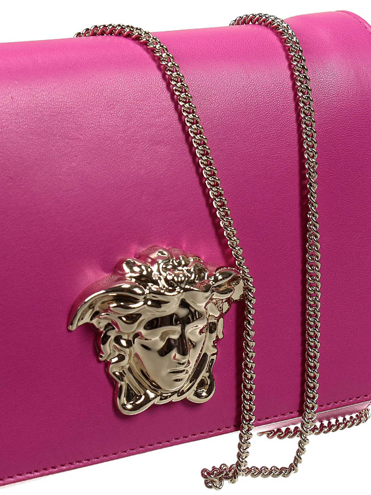 Versace - Palazzo leather Medusa clutch - clutches - DBSE591 DNNAP 343027e3fb1ca