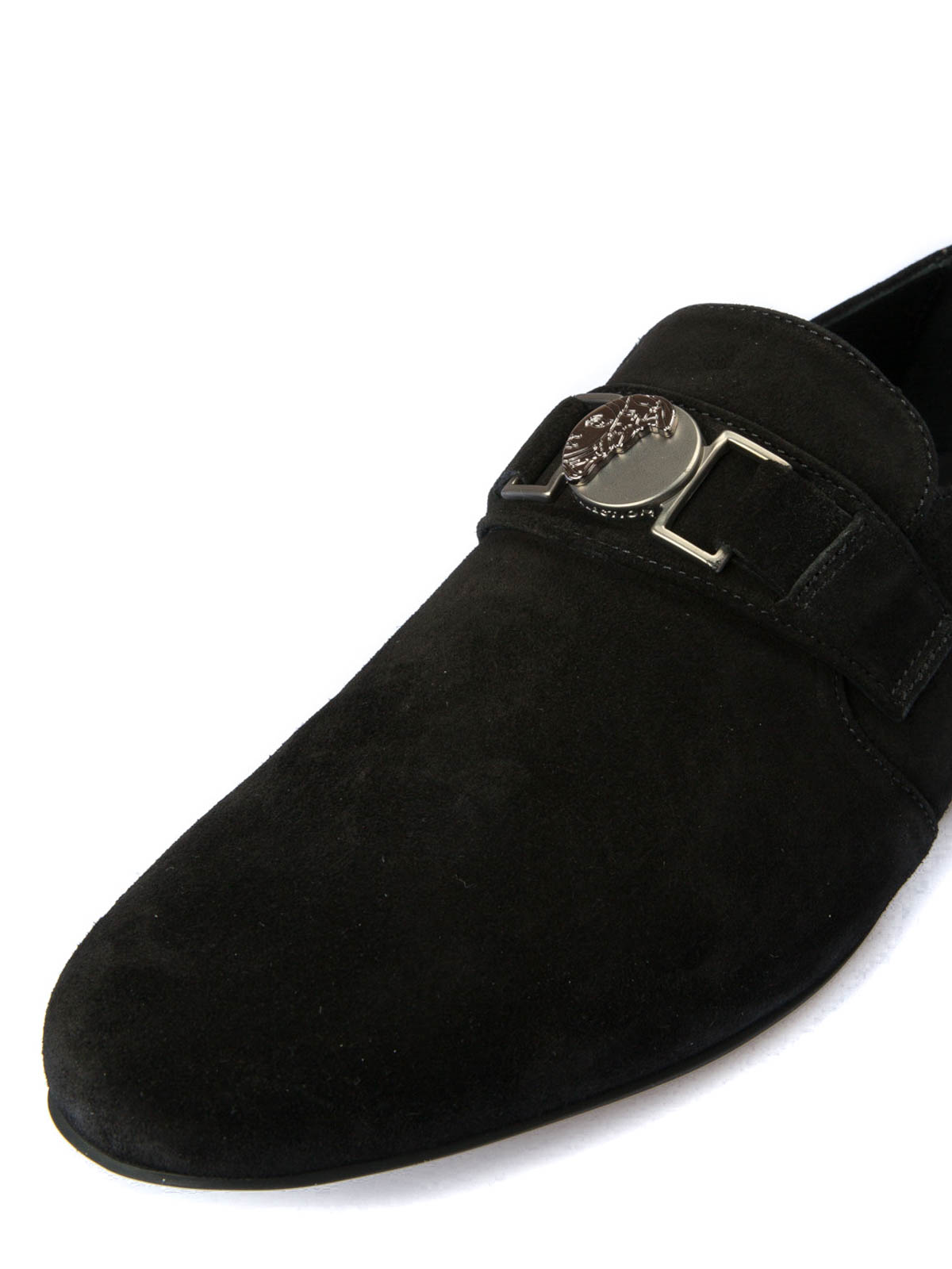 7b993f0cc1c iKRIX VERSACE COLLECTION  Loafers   Slippers - Medusa detailed suede loafers