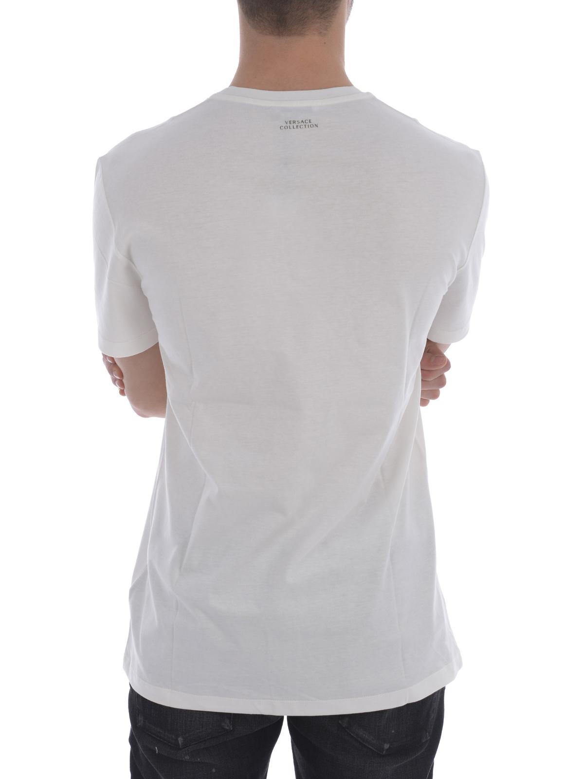 33413882a243 iKRIX VERSACE COLLECTION  Chemises - Chemise Blanc Pour Homme