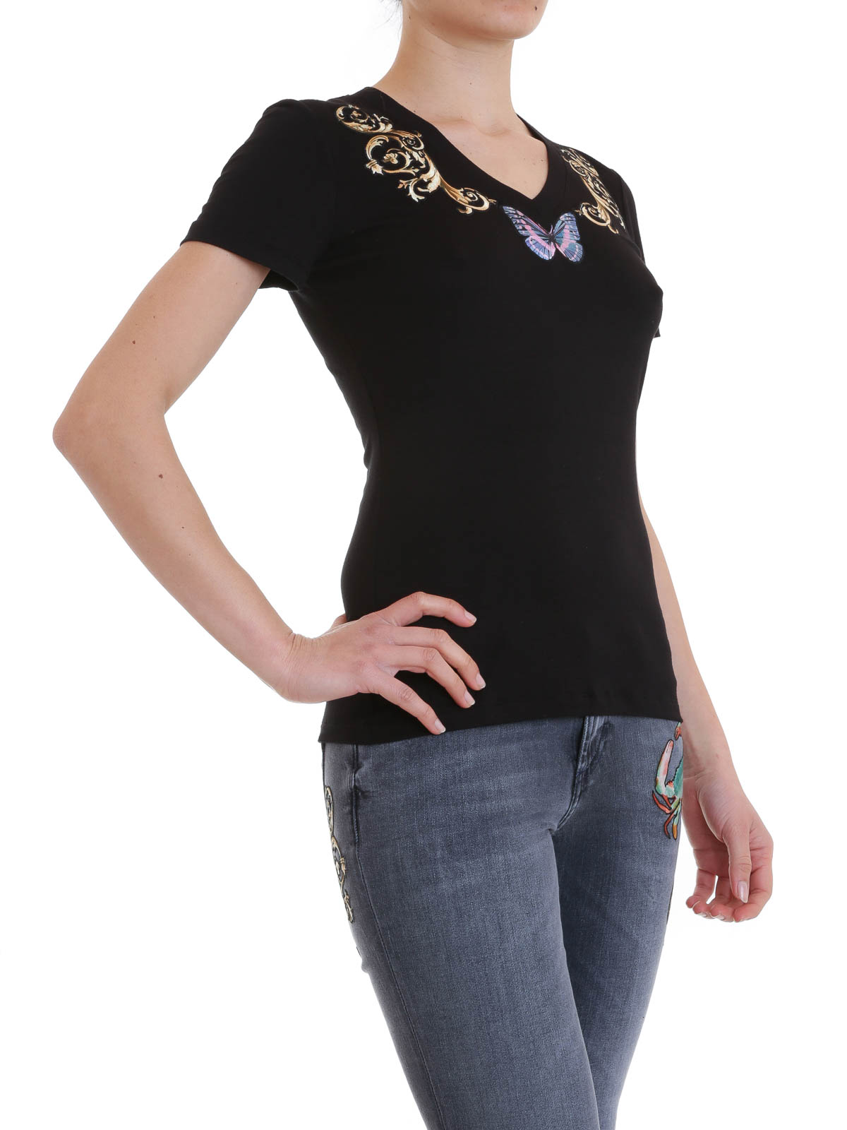 Versace T Shirts Women