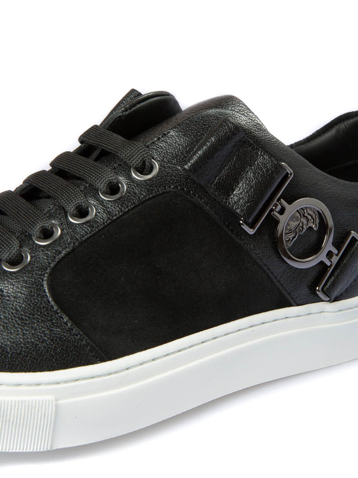 iKRIX VERSACE COLLECTION  Chaussures de sport - Baskets Noir Pour Homme 6def9eece7d