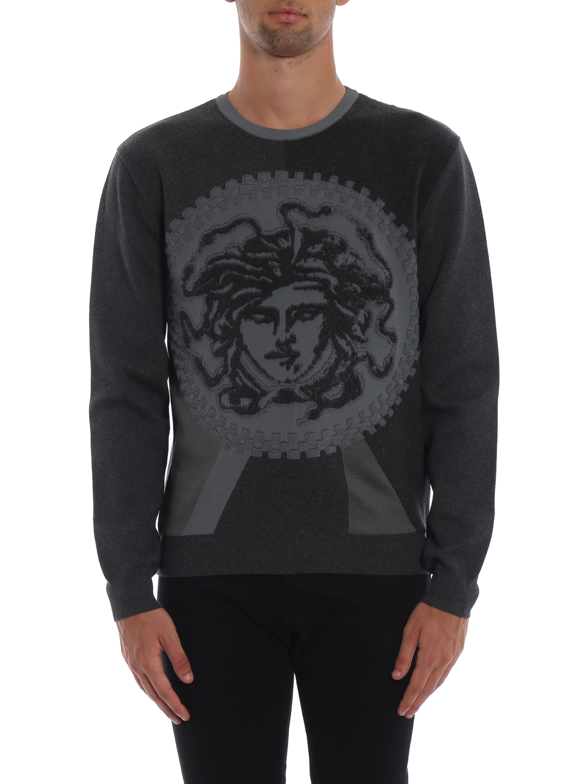 Versace - Pull Col Rond - Medusa - Pull col rond - A79786A225888A610 bb369bb14a7