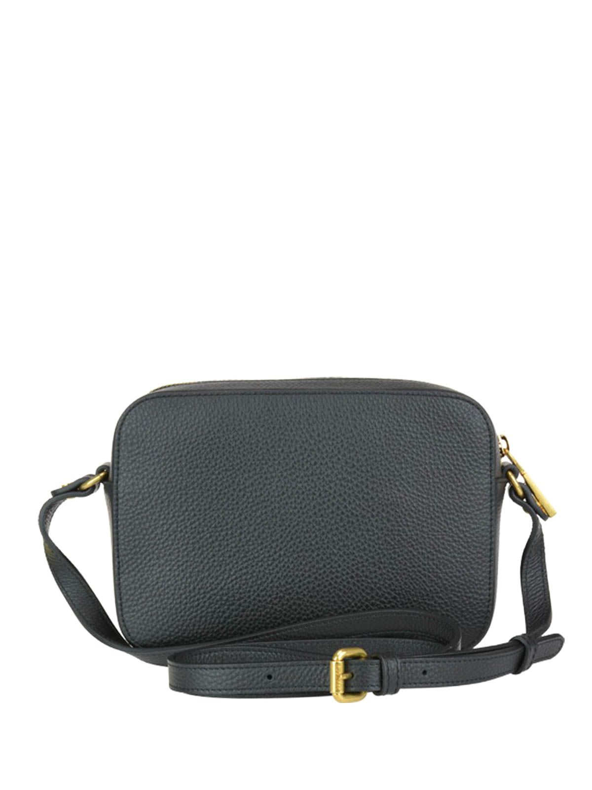 6749acafae iKRIX VERSACE: cross body bags - Palazzo black grained leather cross body  bag