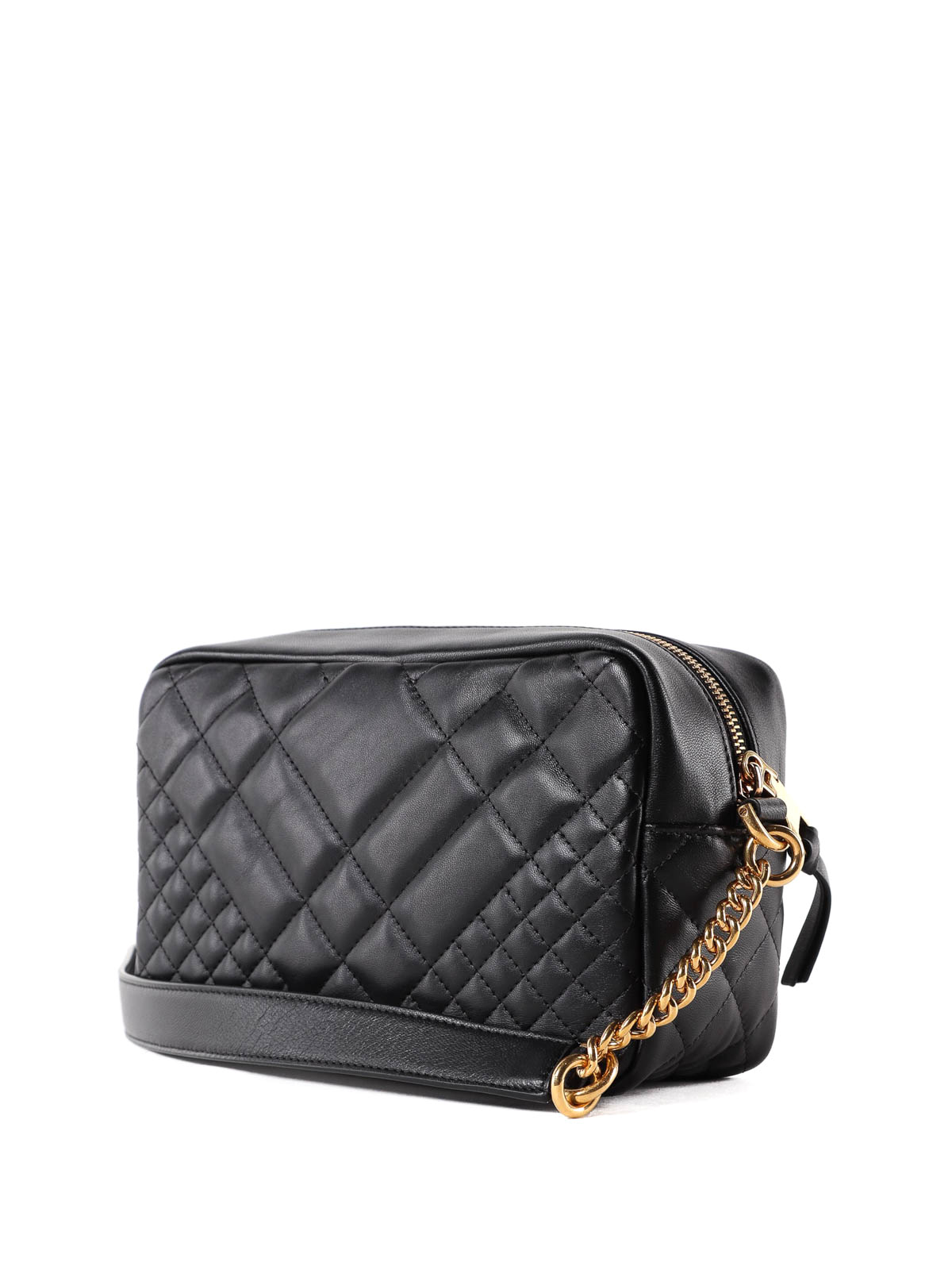 1fdefe428d iKRIX VERSACE: shoulder bags - Medusa black quilted nappa shoulder bag