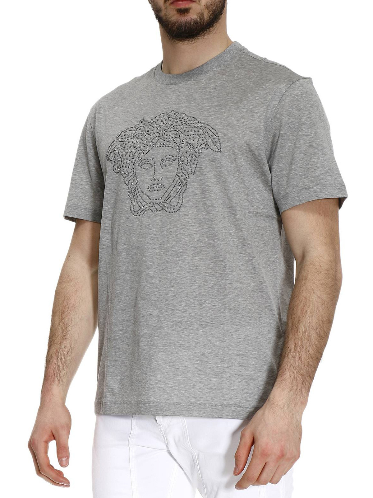 grey versace t shirt