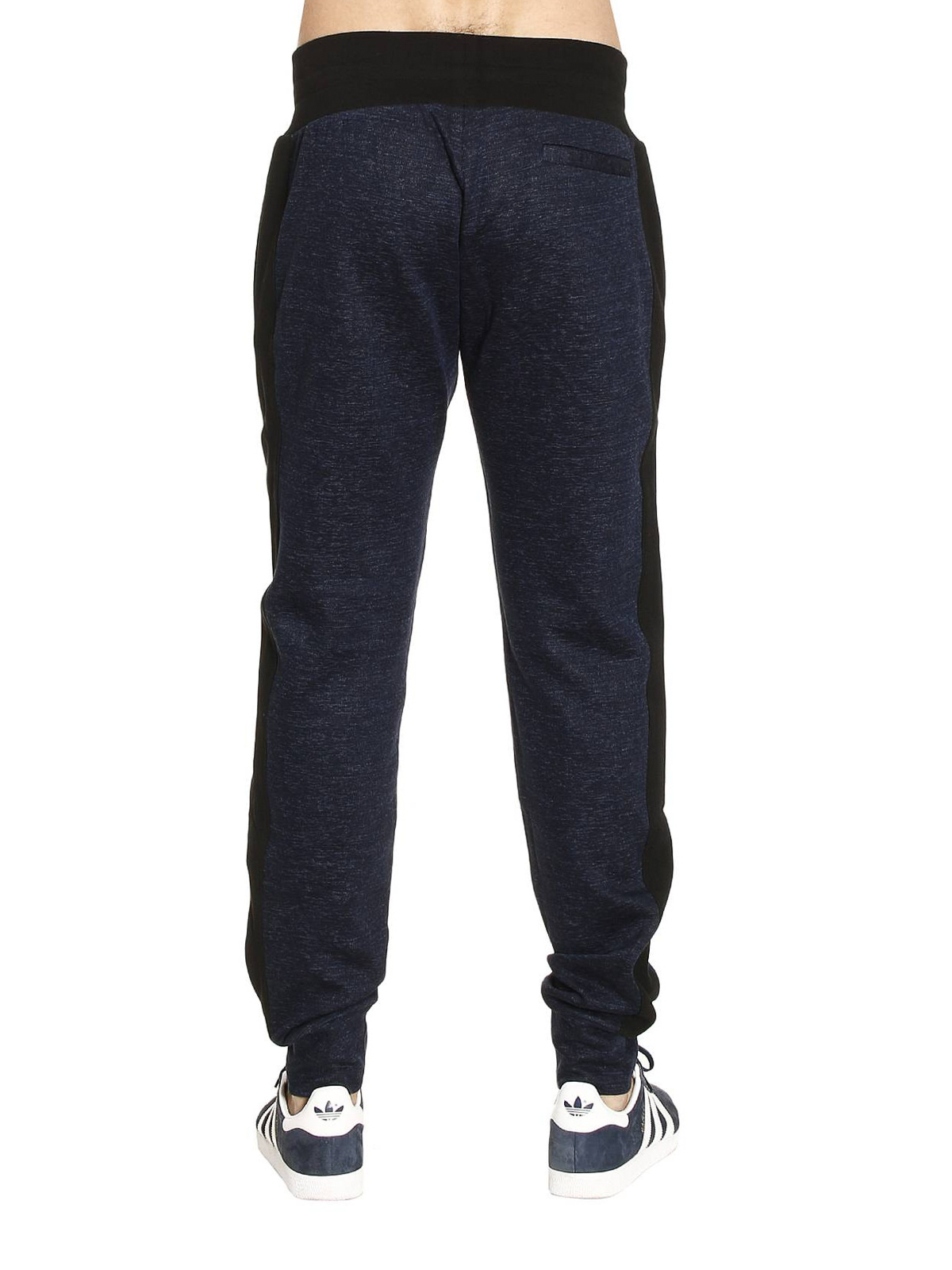 813c3d07 Versace - Cotton and linen blend trousers - tracksuit bottoms ...