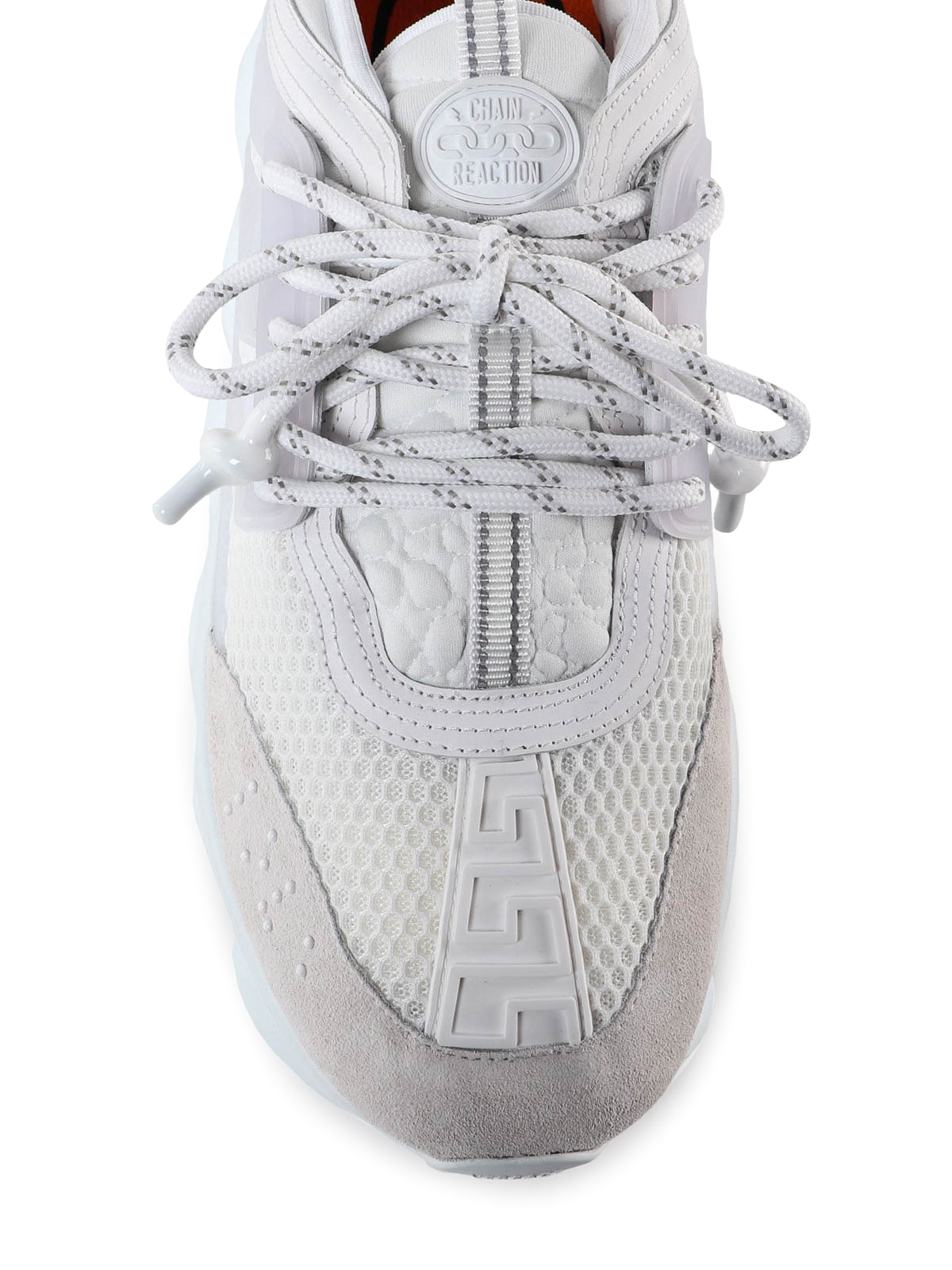 Versace - Chain Reaction white chunky sneakers - trainers ...