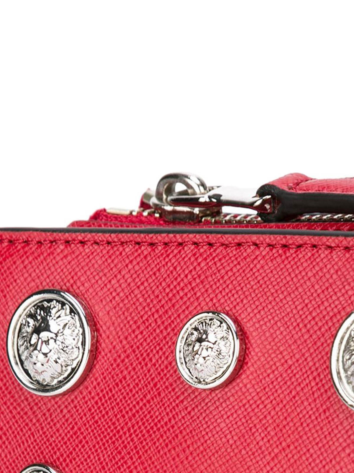 Versace Bandoulière Versus Pour Sac Femme Sacs Rouge OkwPn0