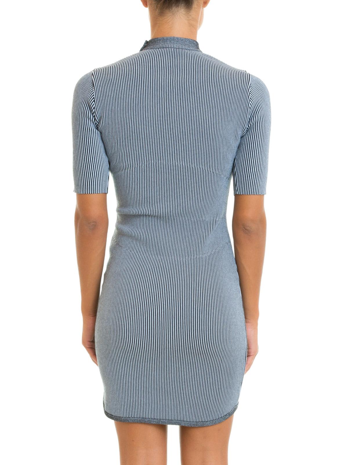 Vestidos cortos en gris