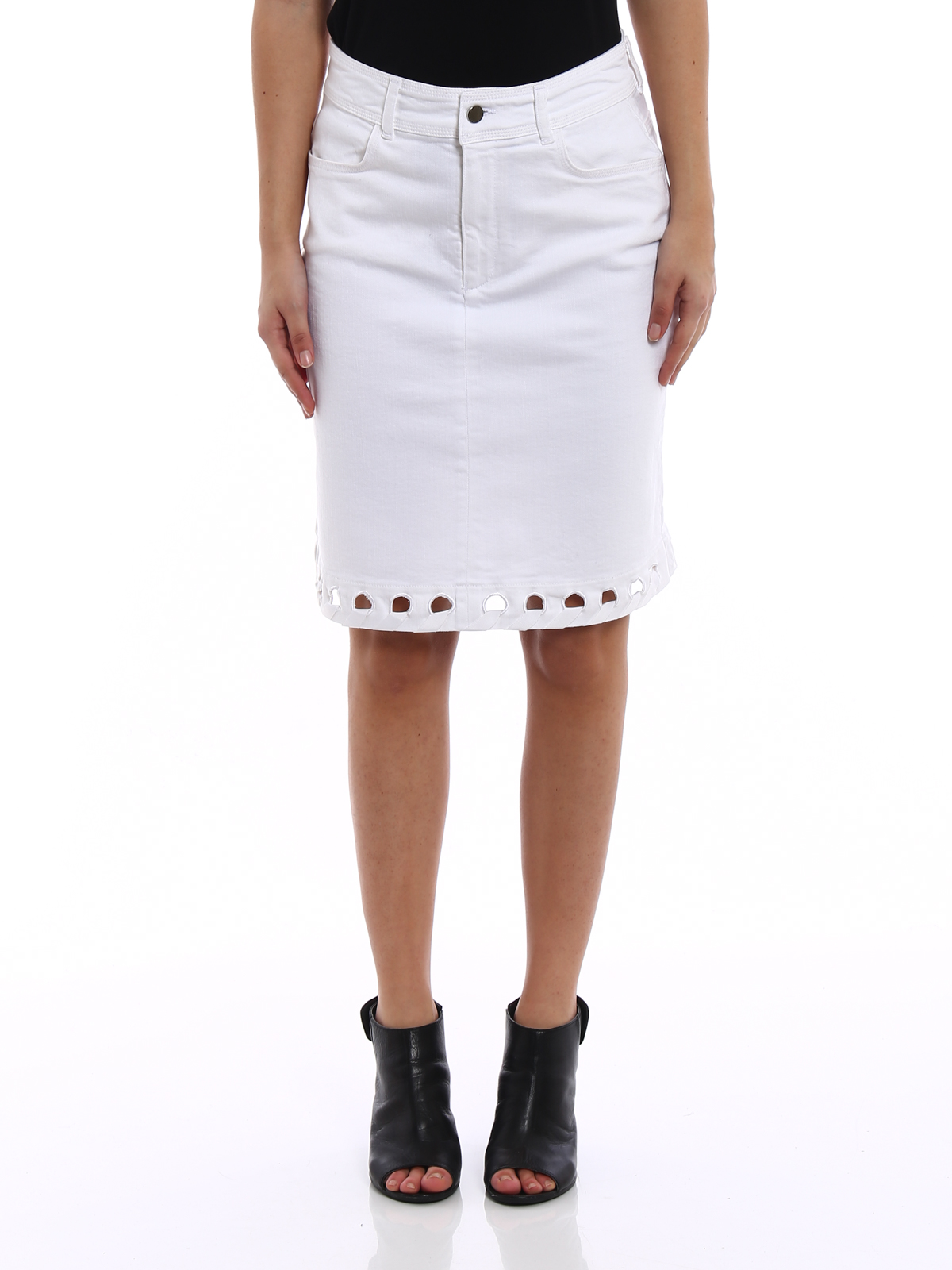 SKIRTS - Knee length skirts Victoria Beckham Free Shipping Outlet Store Oyj250PgQ