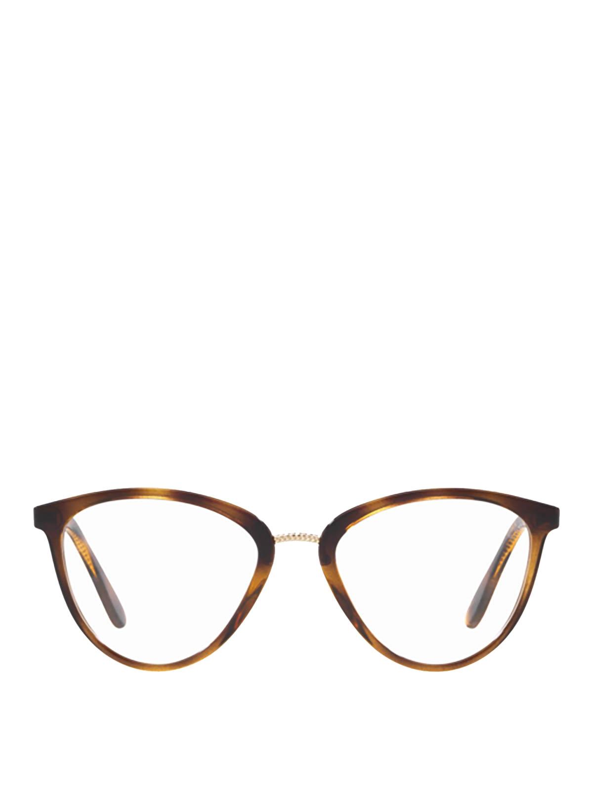Vogue Metal Bridge Tortoise Eyeglasses عینک Vo5259w656 Ikrix
