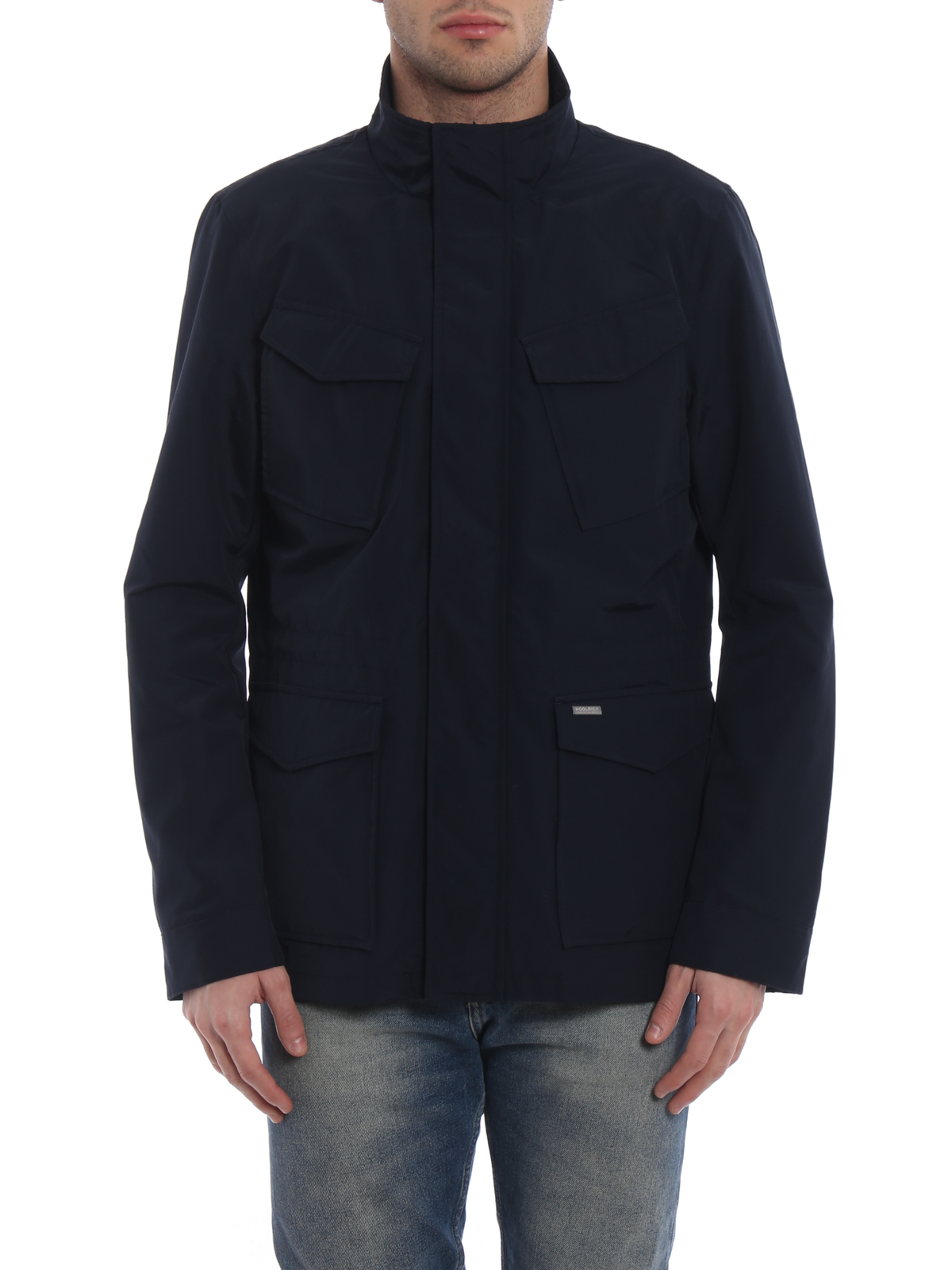 1b8cbbcfb6f Woolrich - Travel cool and dry blue jacket - casual jackets ...