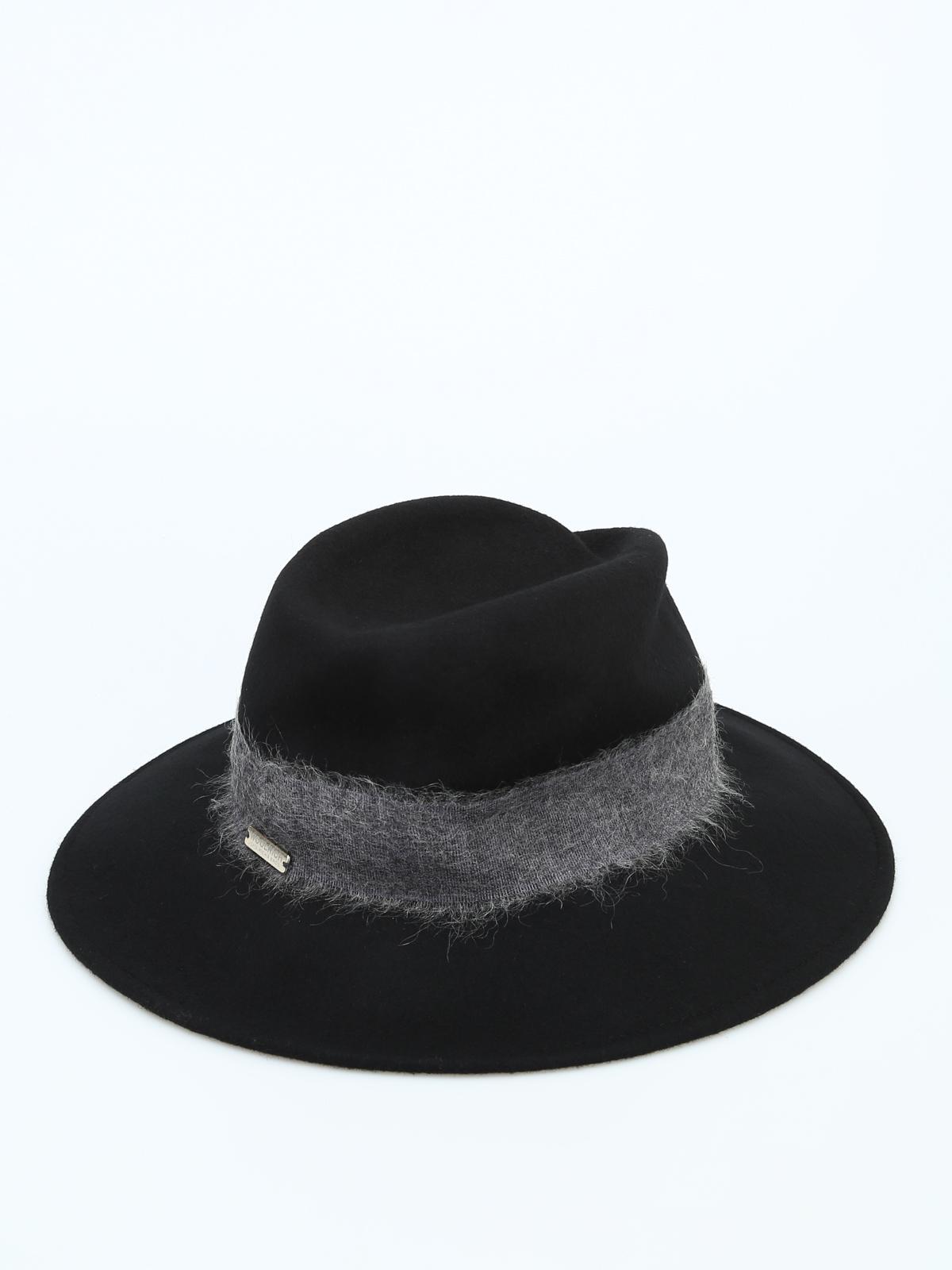 iKRIX WOOLRICH  cappelli - Cappello in feltro con fascia a contrasto 3a91cc80186a