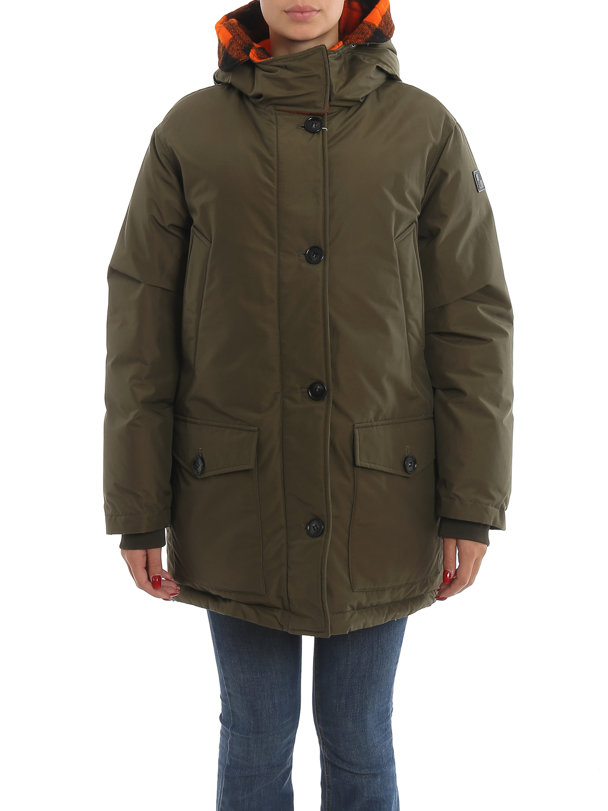 Woolrich Piumino reversibile Reversible Parka Nf
