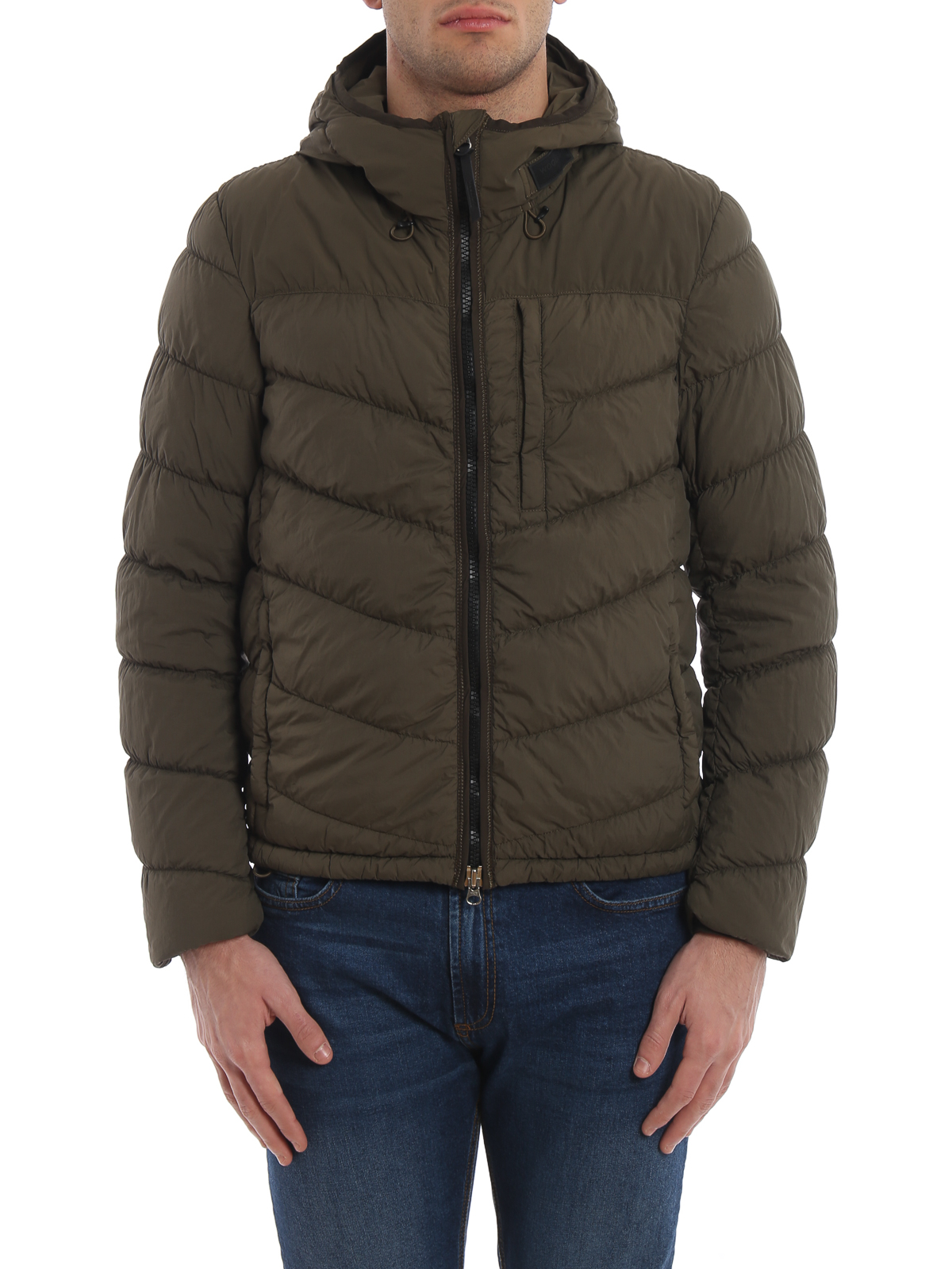 Woolrich Sundance Hooded Quilted Padded Jacket Padded