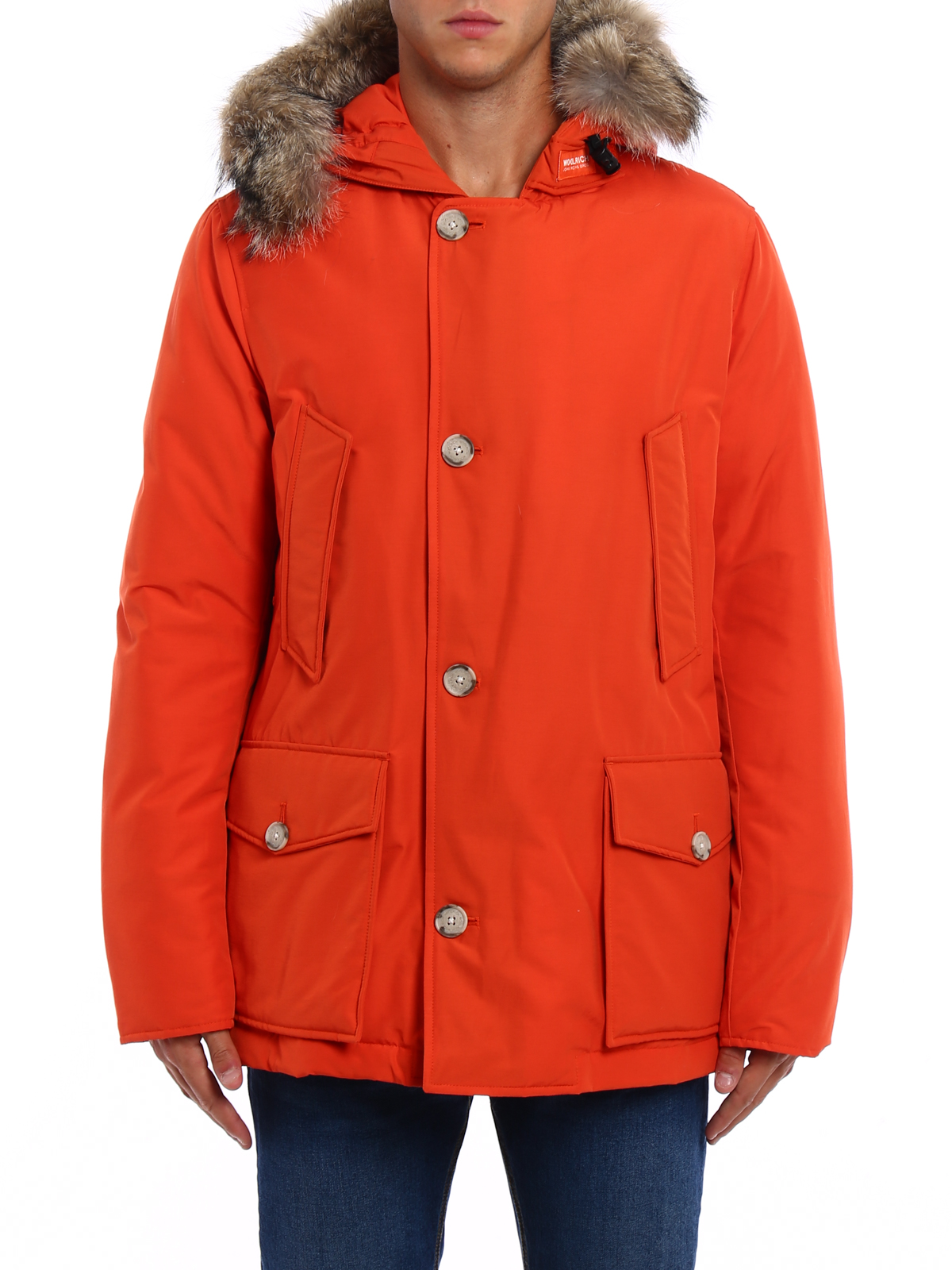 low priced d3917 80bb1 Woolrich - Parka - Orange - Parkas - WOCPS2586CN03TRO ...