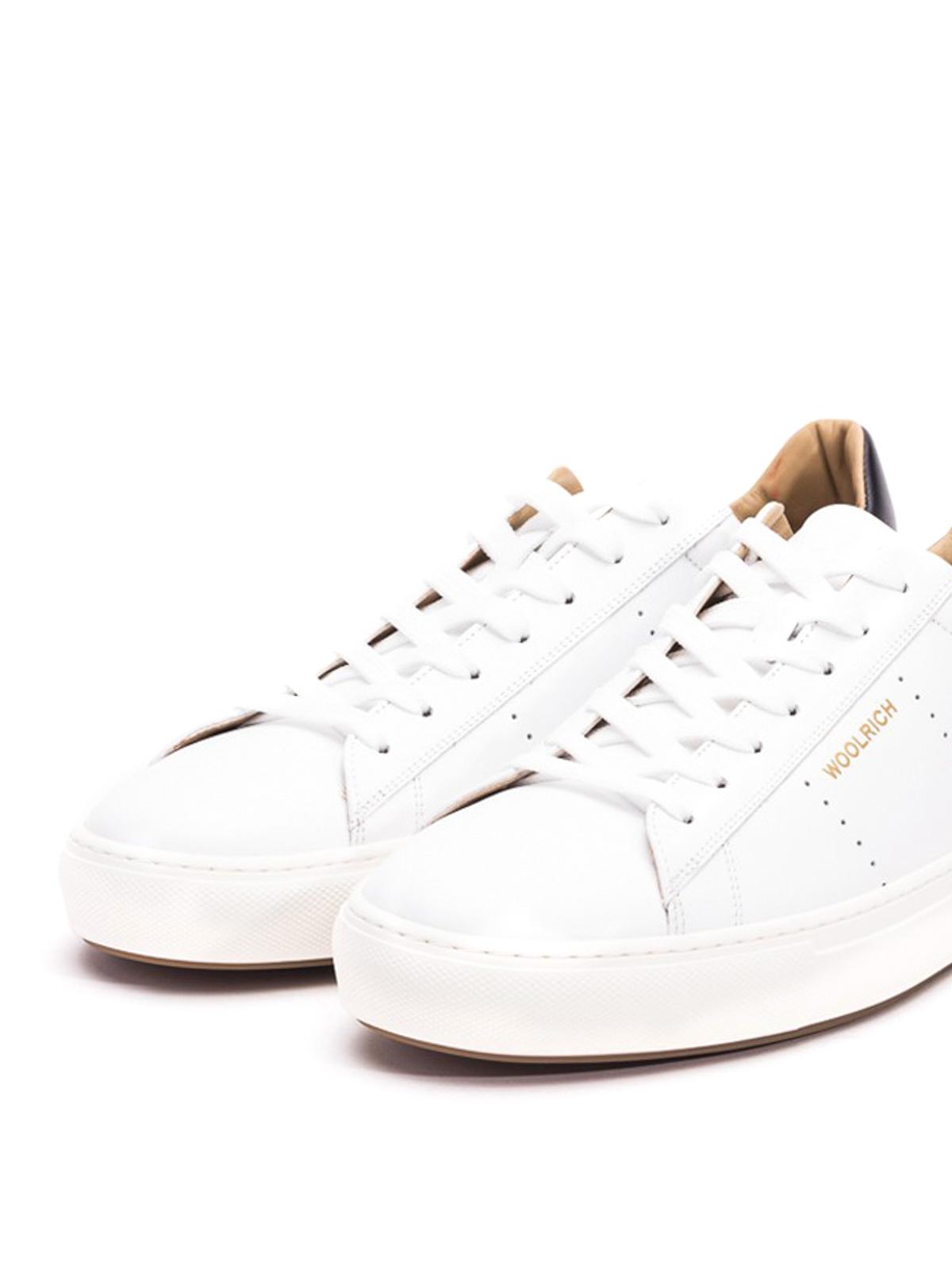 Woolrich - Black heel counter white