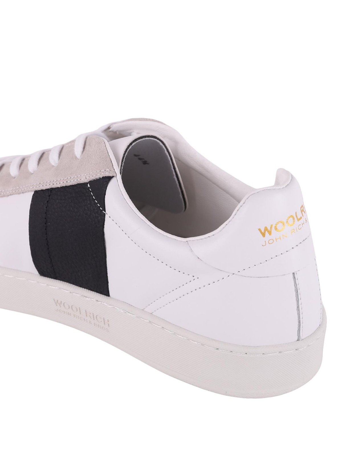 Woolrich - Court Low leather sneakers