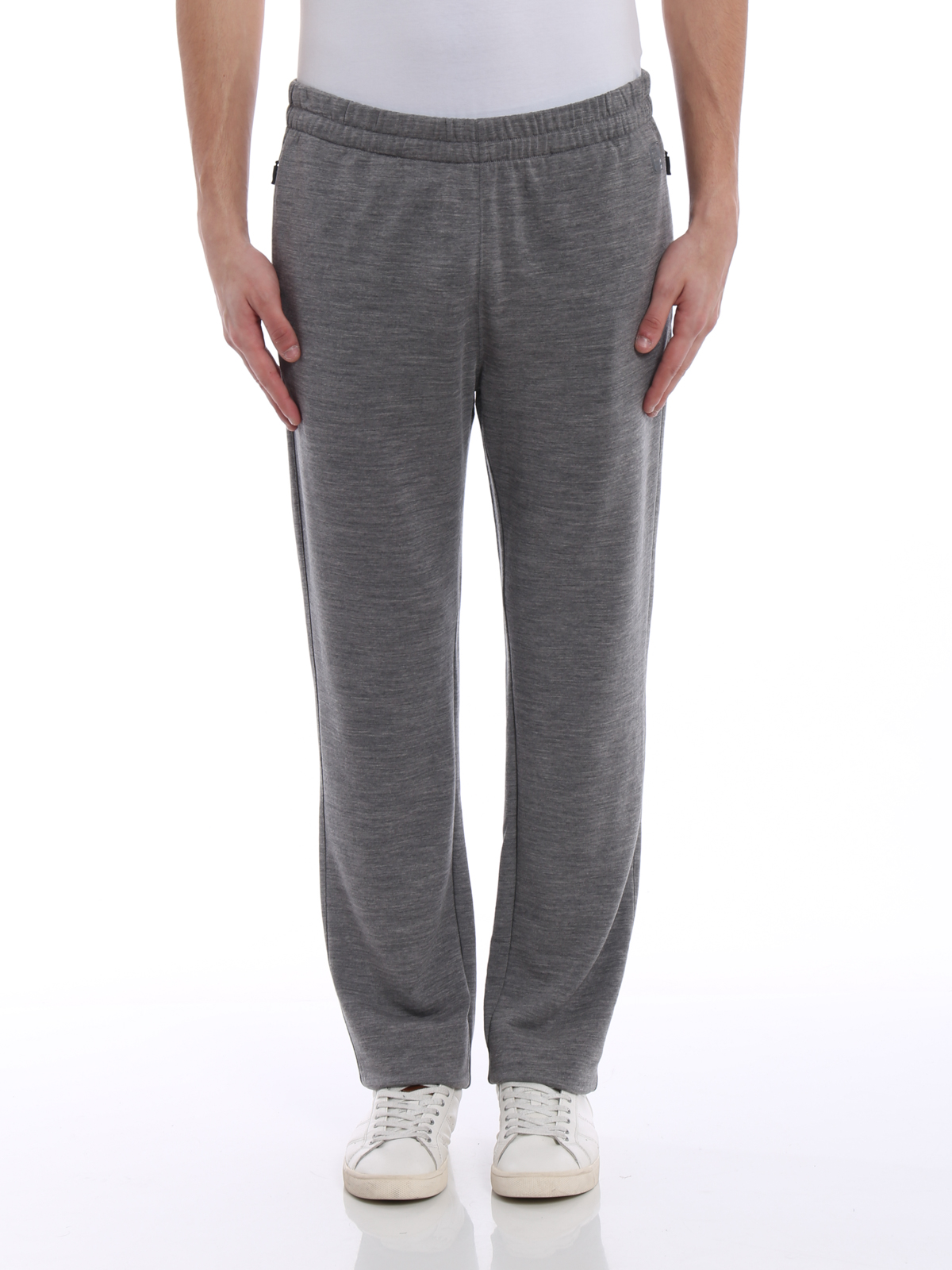 57c4d3fd iKRIX Z ZEGNA: tracksuit bottoms - Techmerino® wool jogging pants
