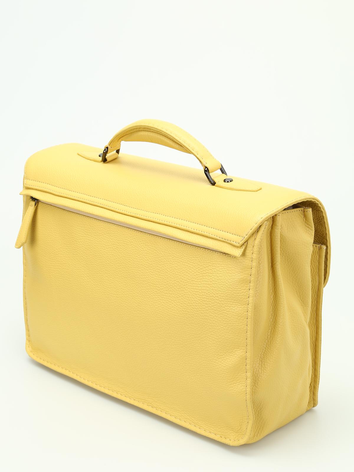 Zanellato Almirante Dollarone leather satchel onja8O