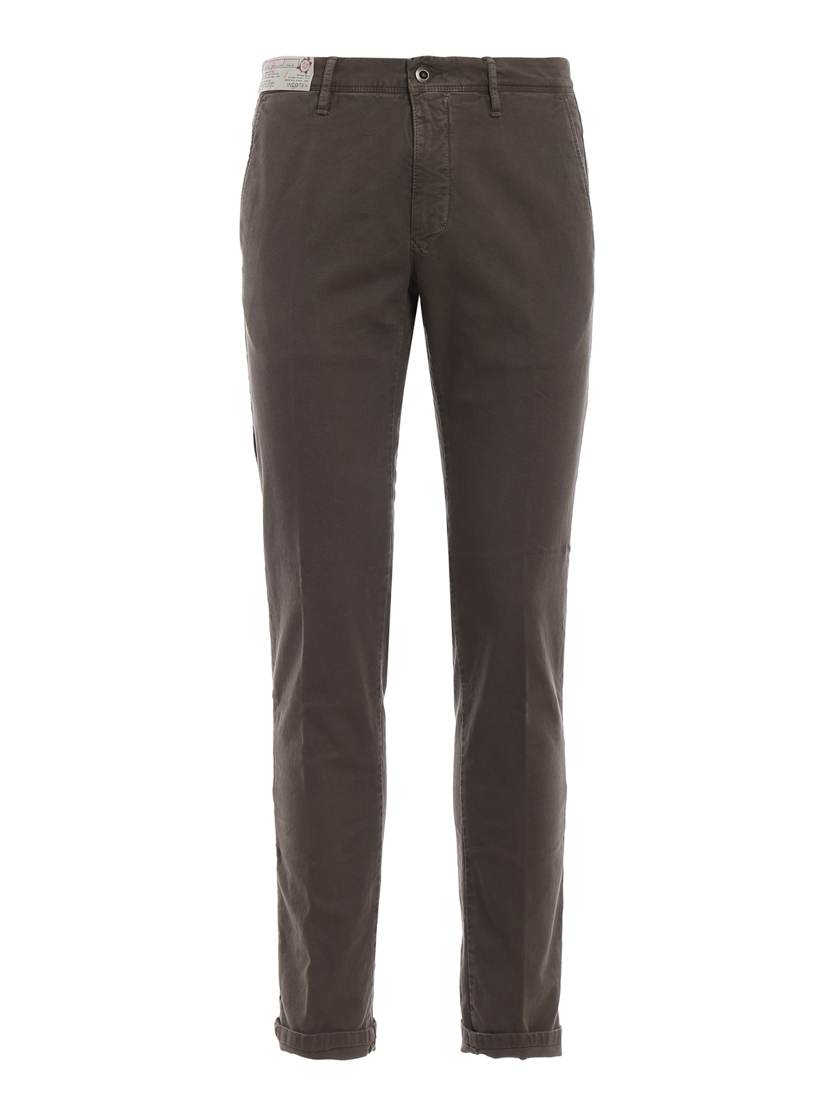 Classic Canvas Trousers Brown