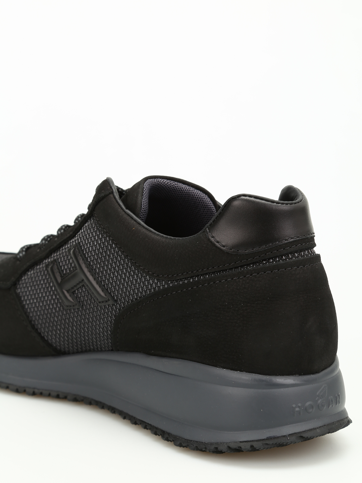 Sneakers Hogan - Interactive N20 in nabuk - HXM2460Z120H544361 ...