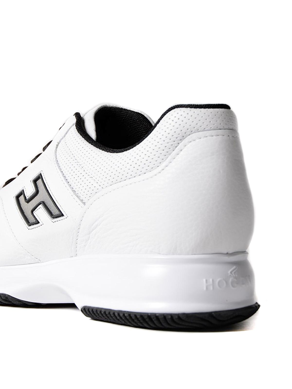 Sneakers Hogan - Interactive in pelle bianca - HXM00N0Y721DU50001