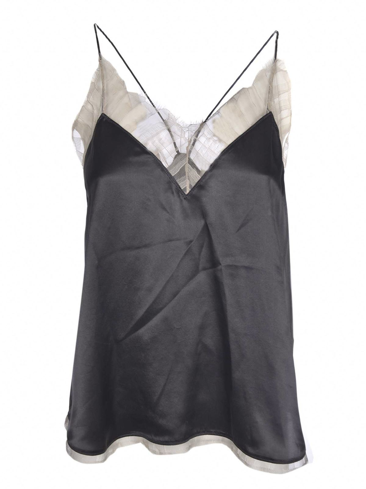 Iro BERWYN TOP IN GREY