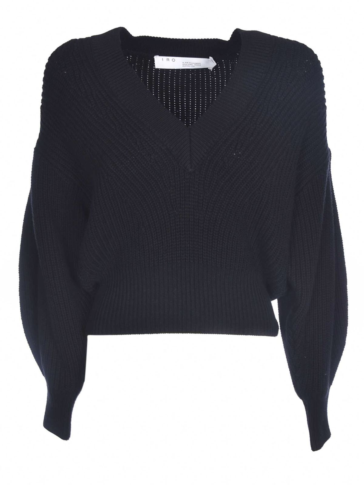Iro KIRIA SWEATER IN BLACK