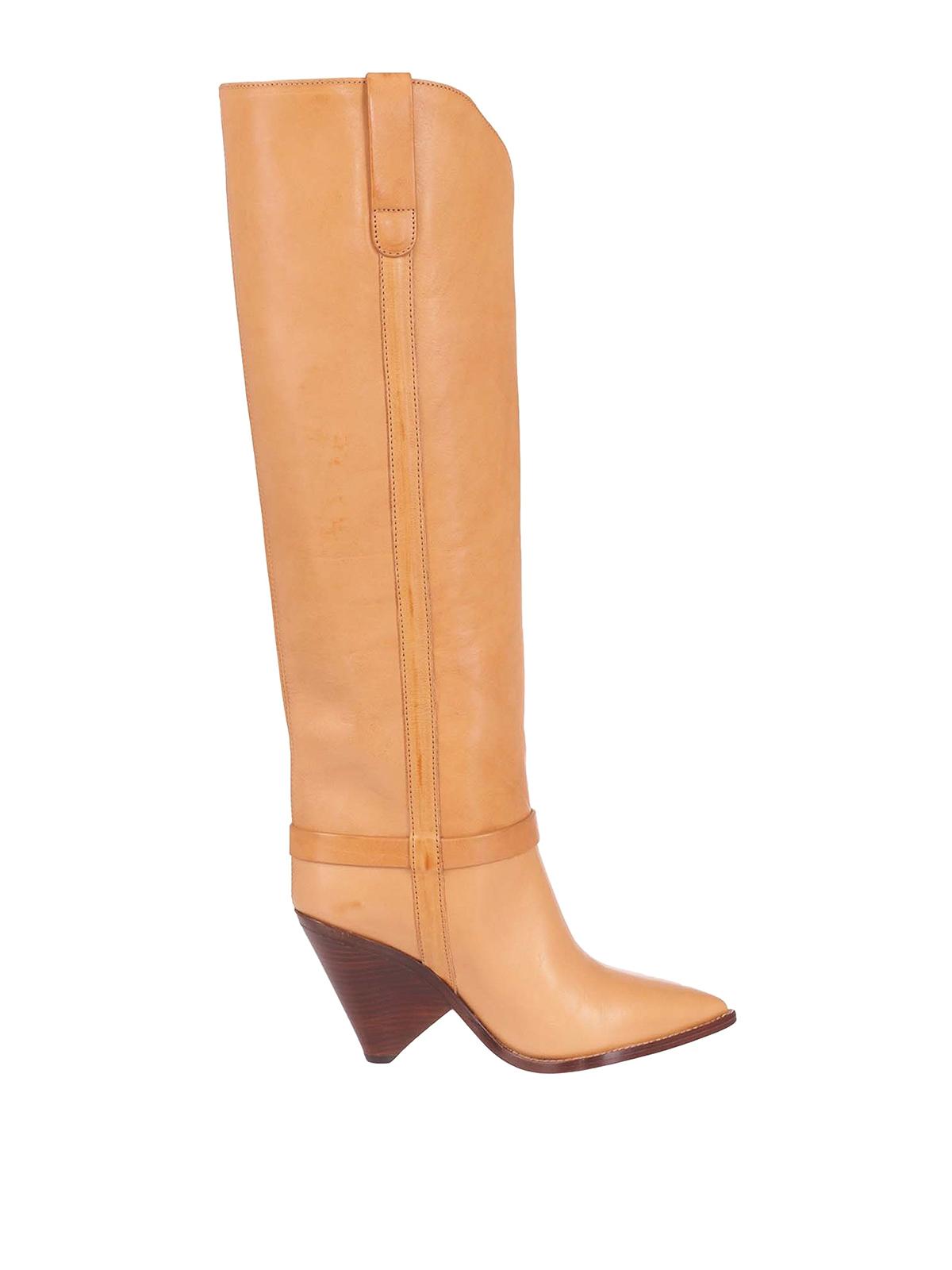 Isabel Marant Leathers LENSKEE BOOTS