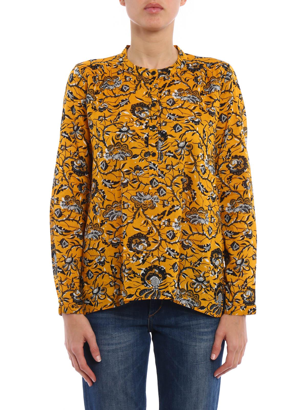 amaria blouse by isabel marant etoile blouses ikrix. Black Bedroom Furniture Sets. Home Design Ideas