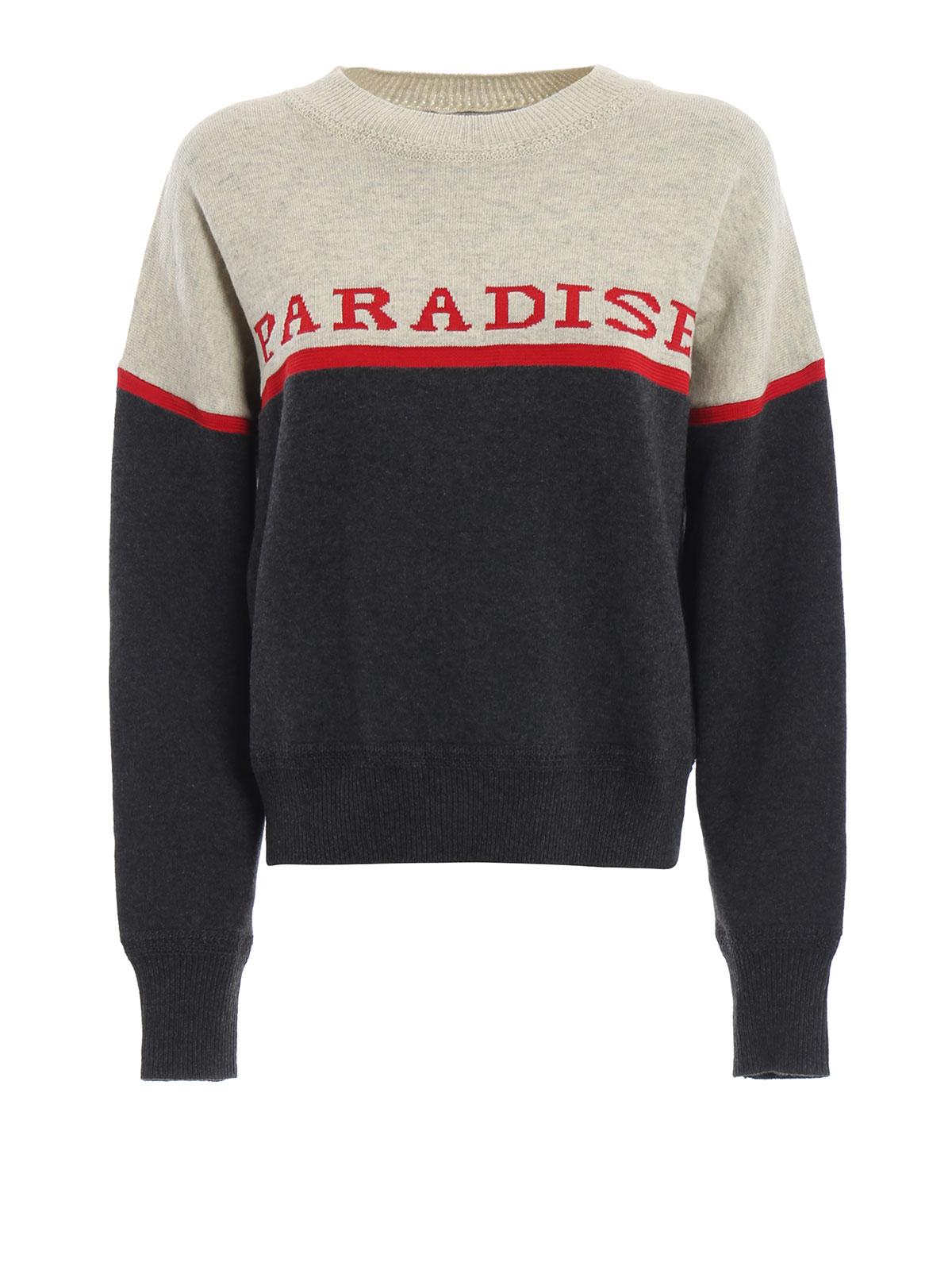 ab28e0f2454 Isabel Marant Etoile: crew necks - Kepson Paradise colour block sweater