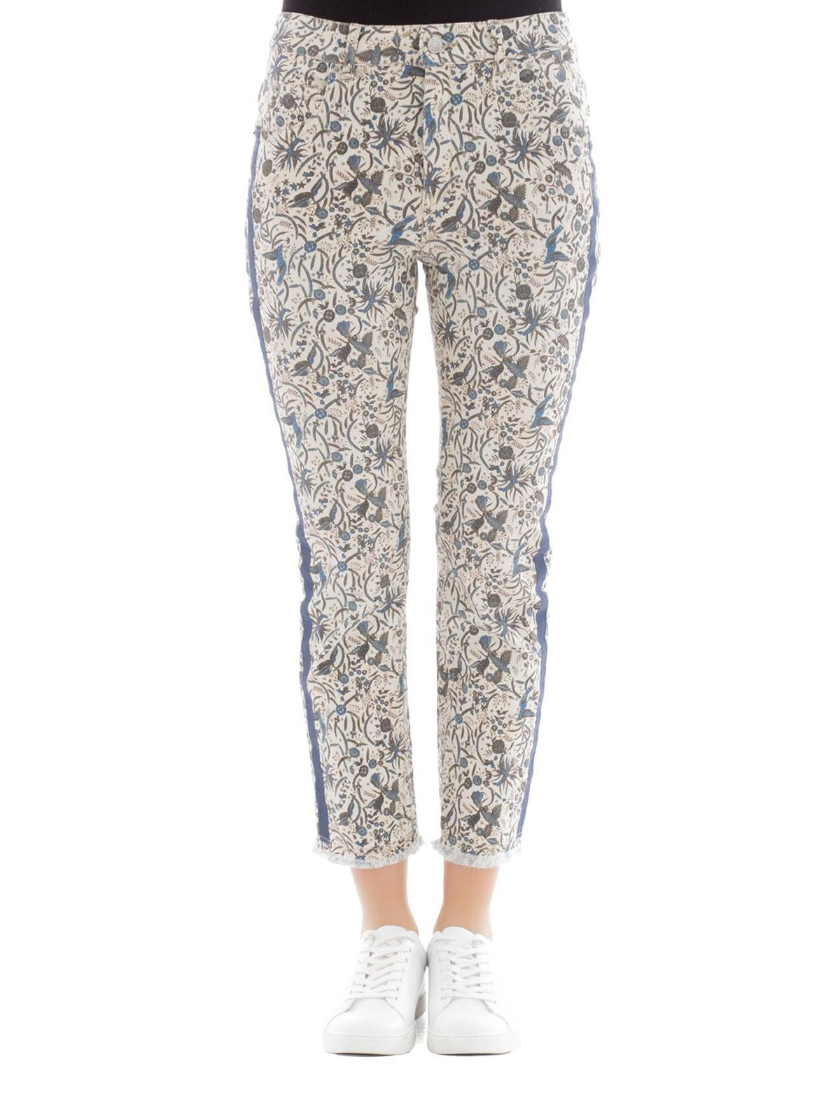 138ff1012ee Isabel Marant Etoile: straight leg jeans online - Fliff printed jeans