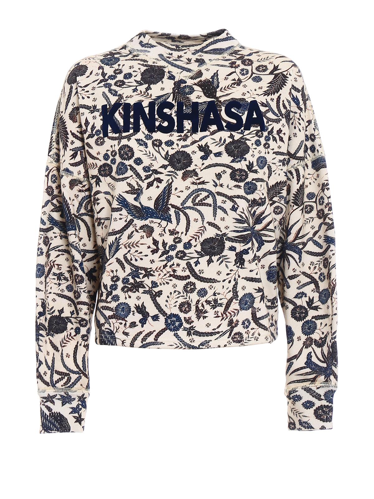 b499b8f43f4 Isabel Marant Etoile: Sweatshirts & Sweaters - Xodilon beige boxy sweatshirt