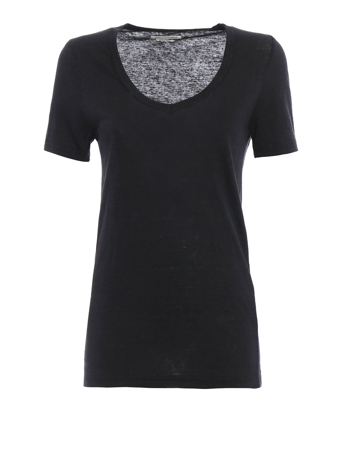 Kid linen t shirt by isabel marant etoile t shirts for Isabel marant t shirt sale