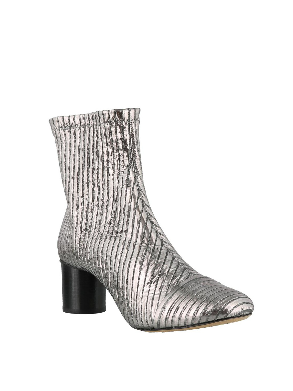 b0eabd03b16 ISABEL MARANT: ankle boots online - Metallic leather Datsy ankle boots