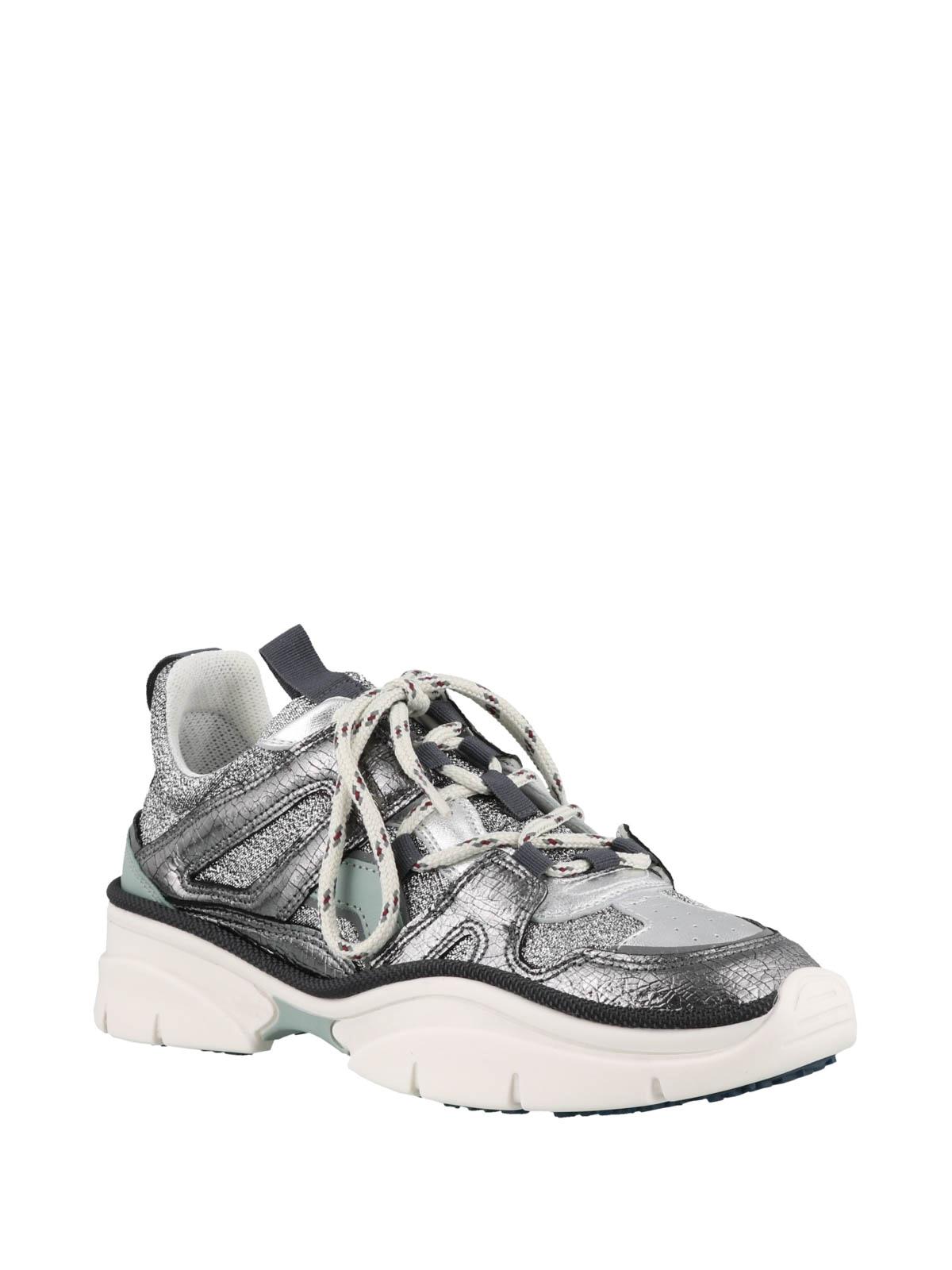 Isabel Marant - Kindsay silver sneakers