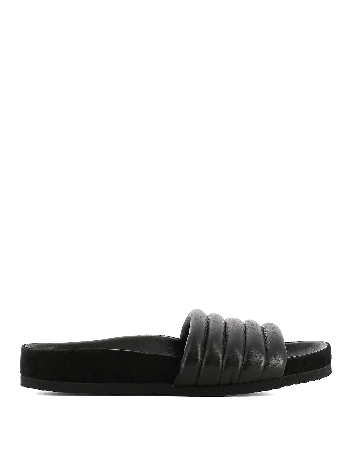 Isabel Marant Hellea Leather Slipper QsvY4V