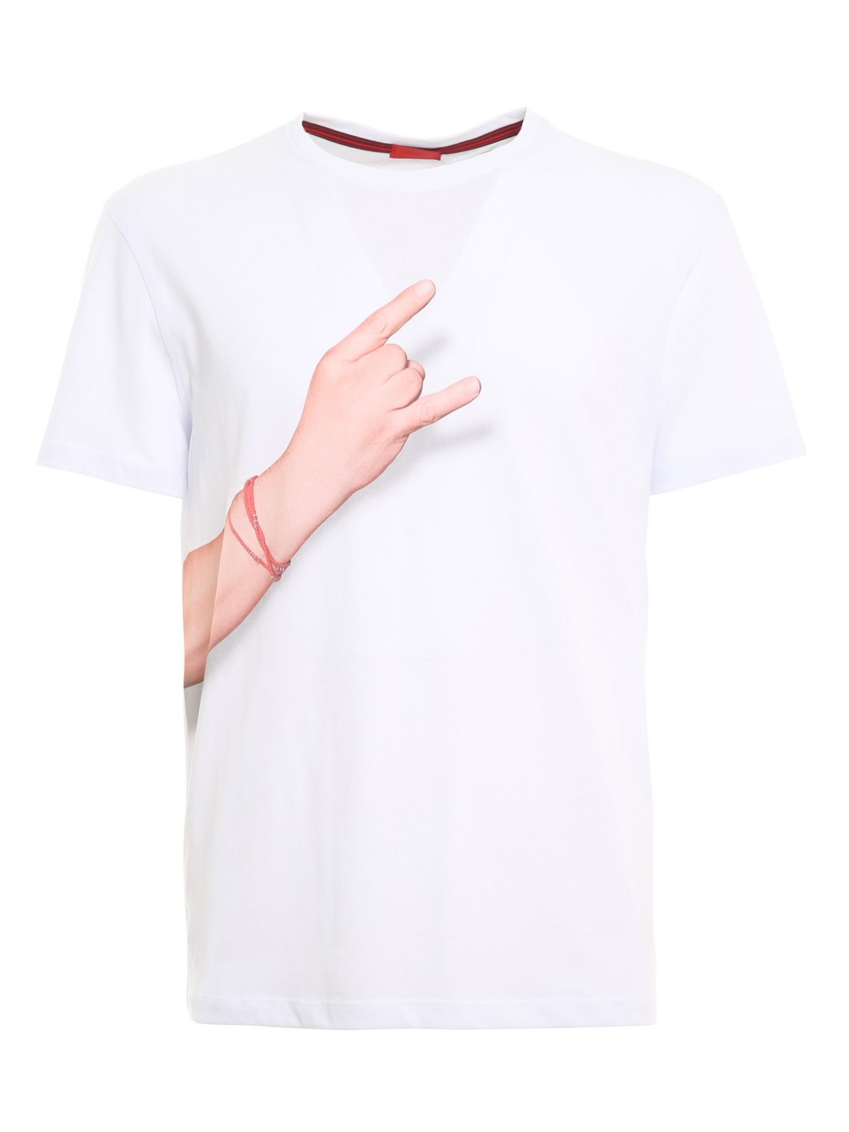 Isaia Cottons 12 GESTI PRINTED T-SHIRT