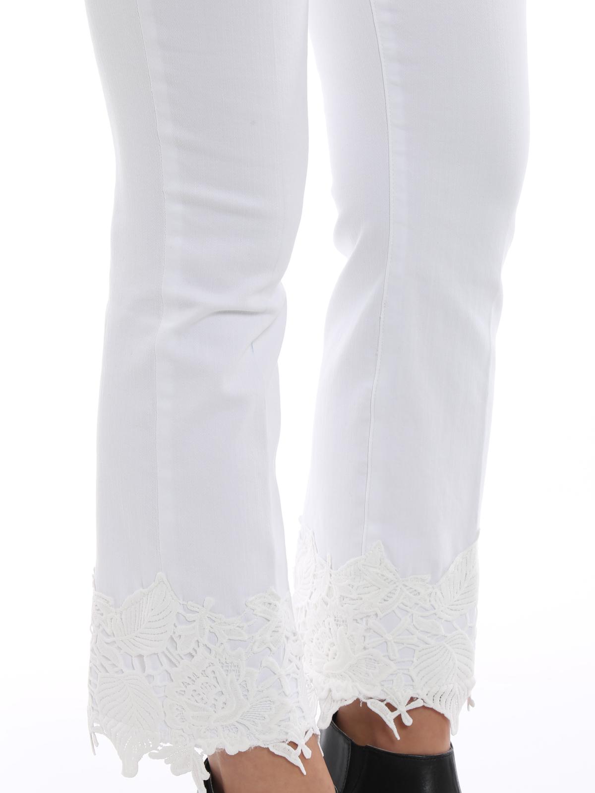 9daeceb7267b8 J Brand - Selena white crop bootcut jeans - bootcut jeans - JB000898 ...