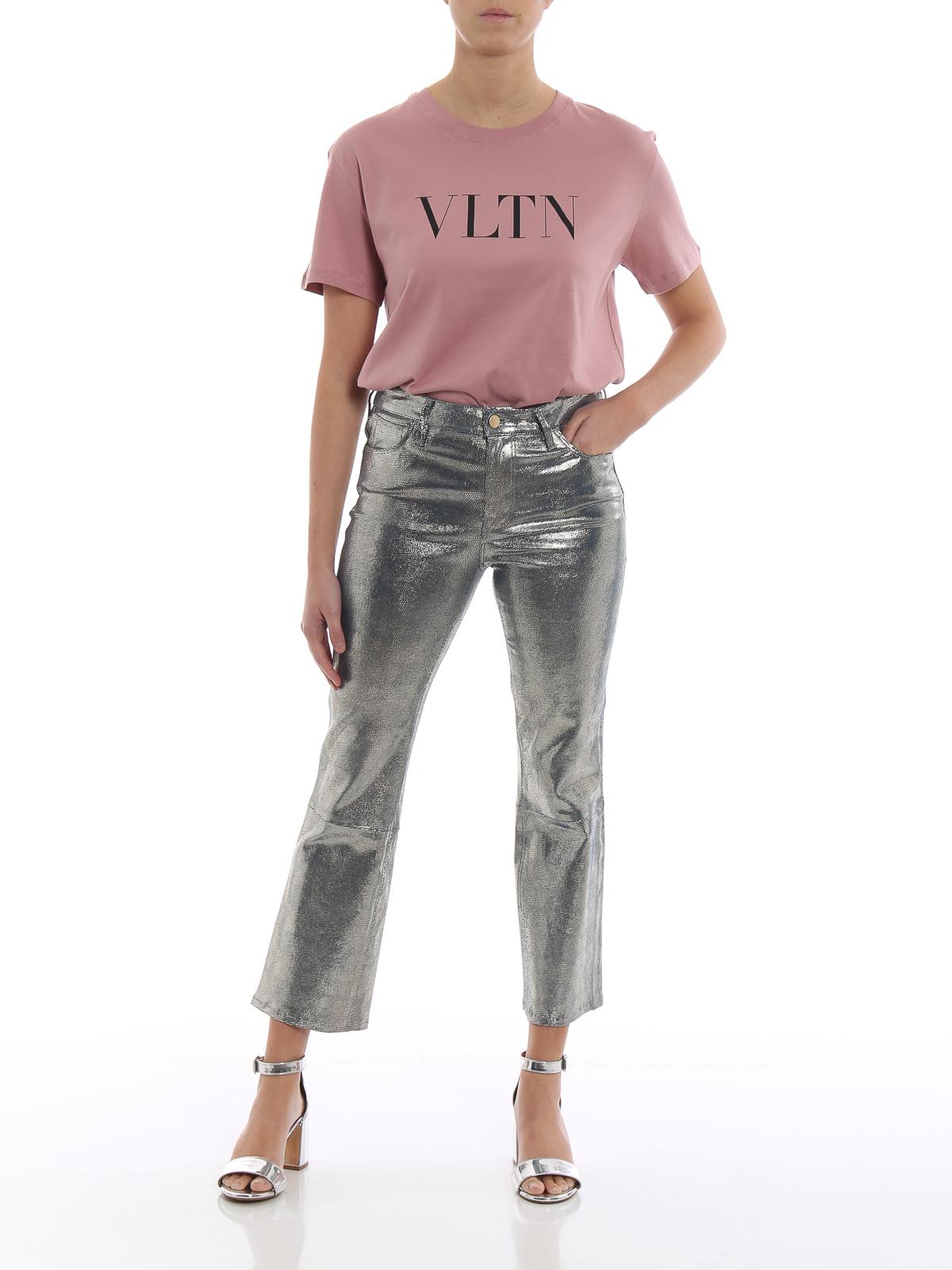 Pantaloni J Nappa Brand Selena Effetto Serpente In 8wkXn0OP