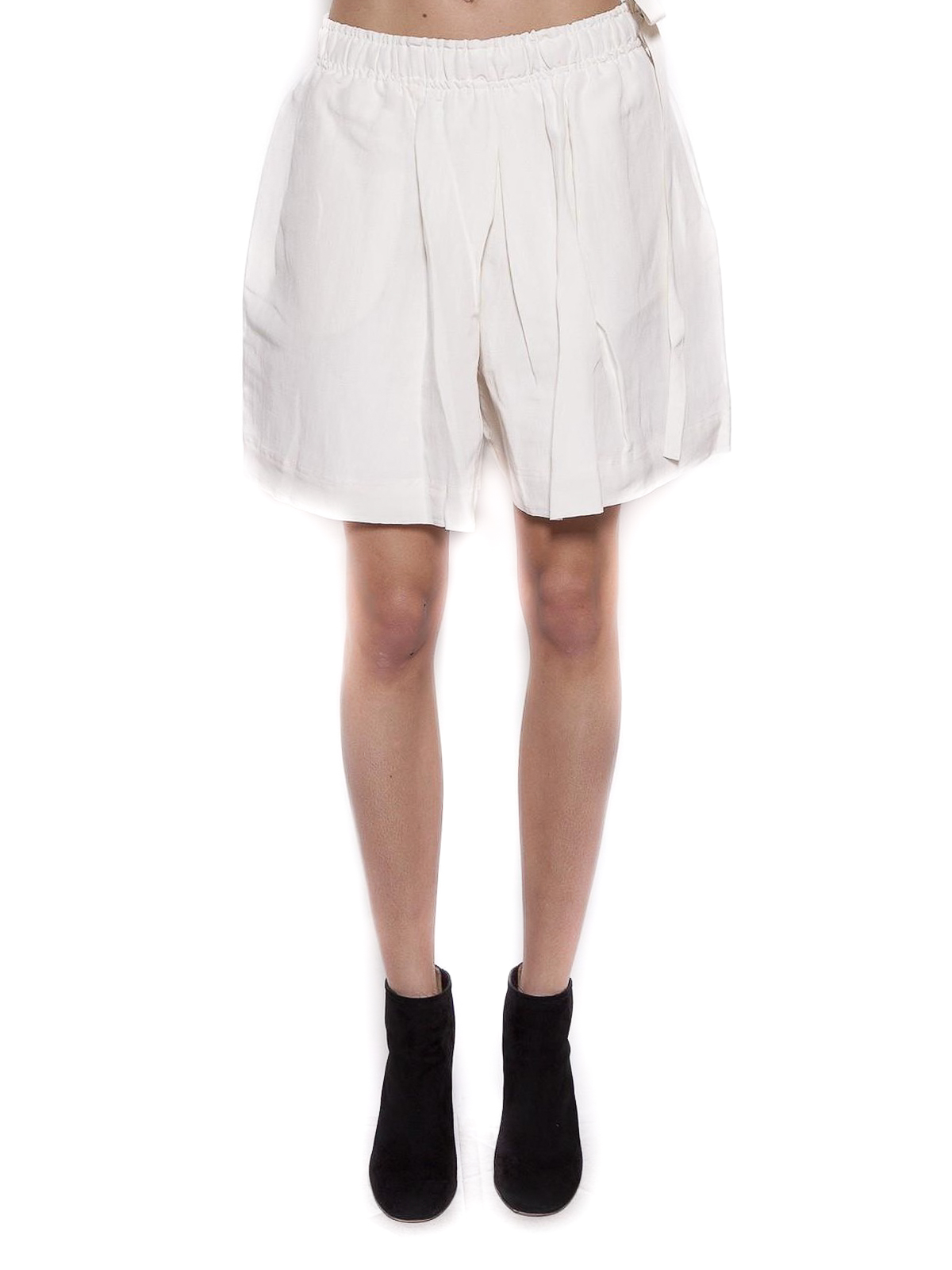 J.W. Anderson Silk and linen blend shorts Trousers