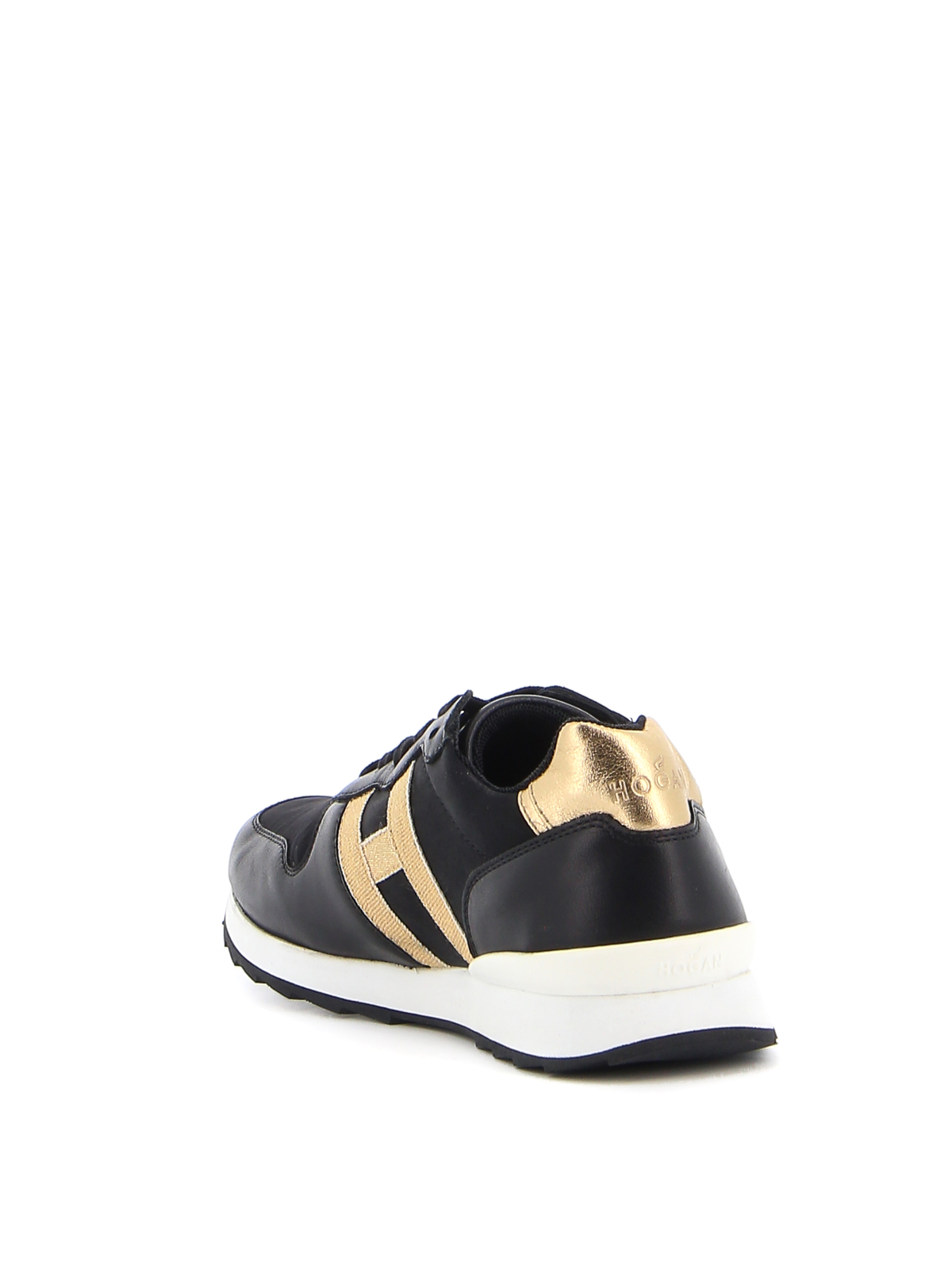 Hogan Junior - J484 H Nastro sneakers - trainers - HXC4840CY50OFC2929