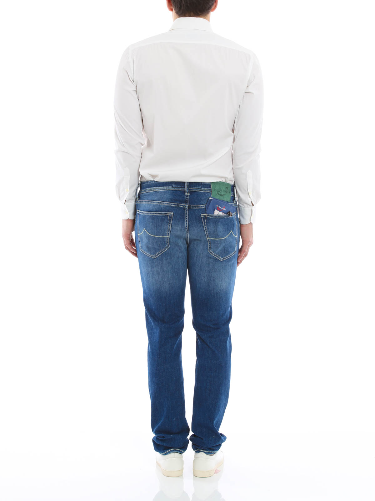 j688 comf jeans by jacob cohen straight leg jeans ikrix. Black Bedroom Furniture Sets. Home Design Ideas